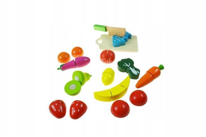 Drewniane Warzywa Owoce 2