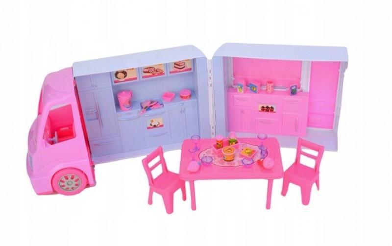 Duzy Kamper Lodziarnia dla lalek Wiek dziecka 3 lata