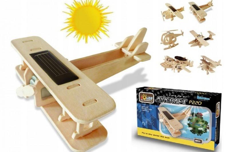 samolot puzzle drewniane 5