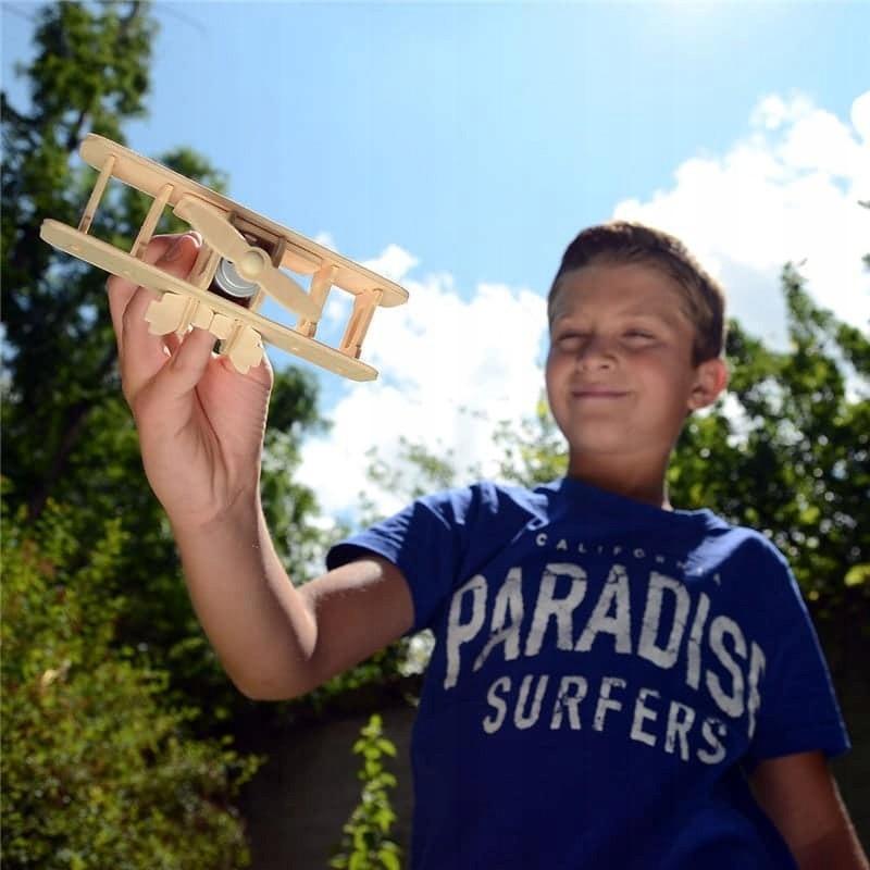 samolot puzzle drewniane 3