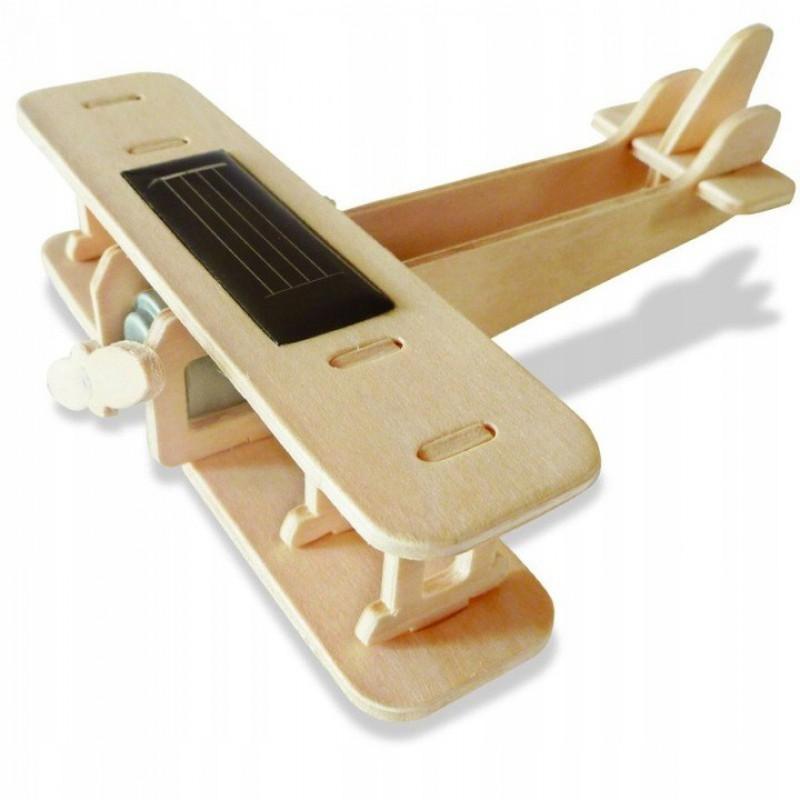 samolot puzzle drewniane 1